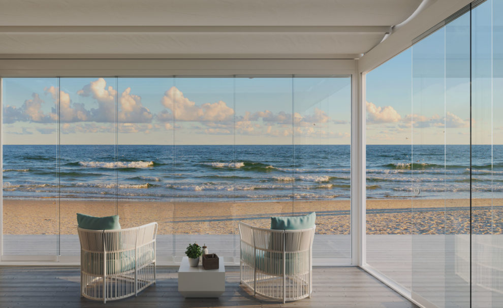 cortinas de cristal exterior