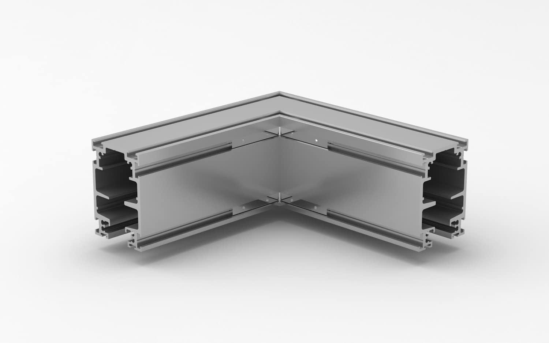 conexiones angulares para cristalera
