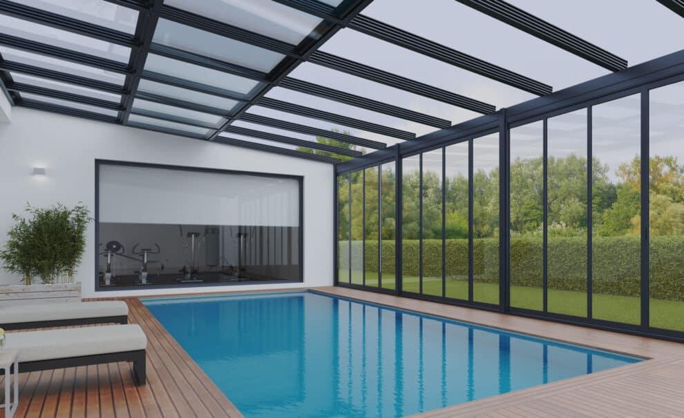 techo movil retractil piscina