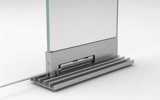 compensación para rodamientos cortina de cristal