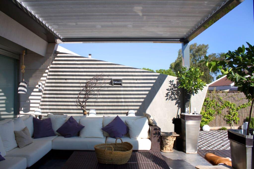 techo bioclimatico kauma