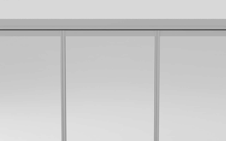 perfiles entre vidrios para cortina de cristal