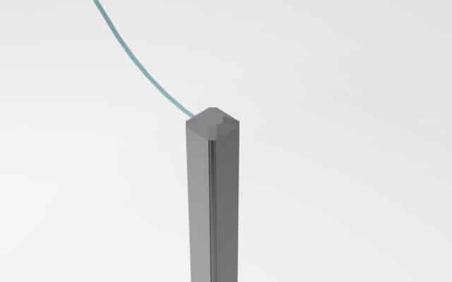 tapa para marcos de paravientos
