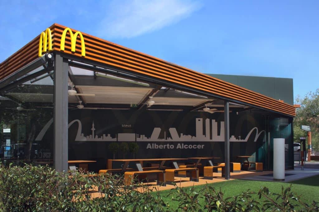 McDonalds alcocer terraza kauma