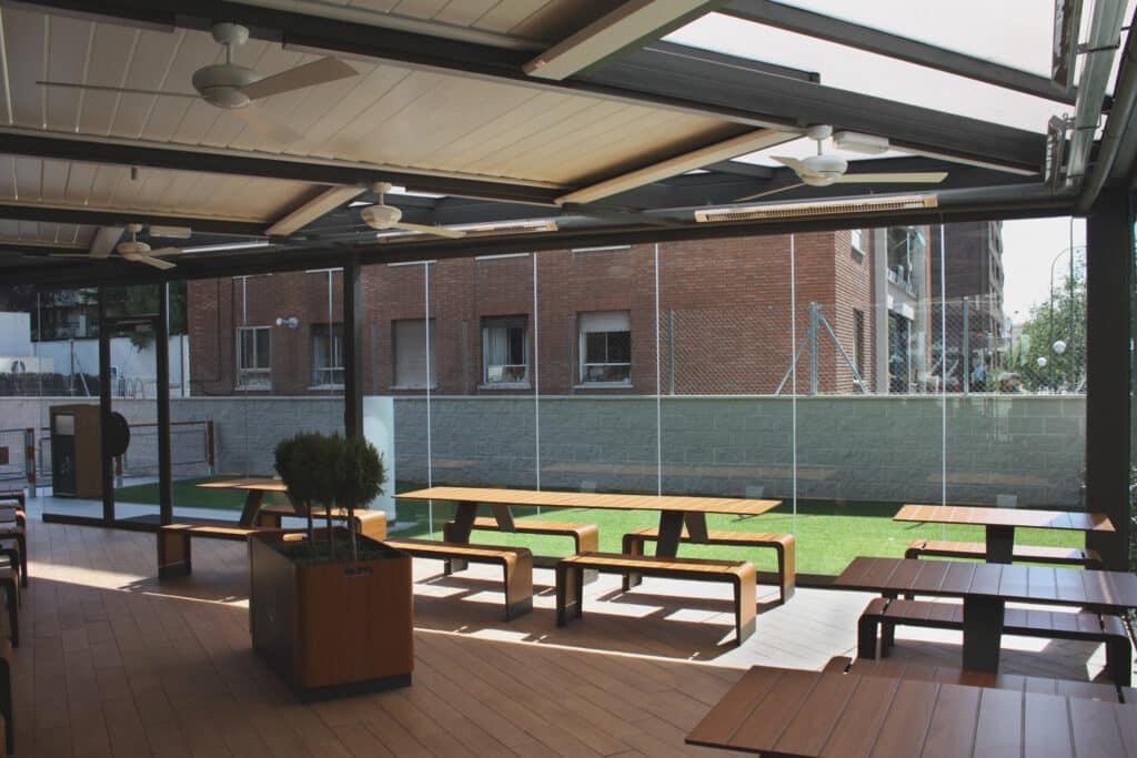 terraza kauma alcocer