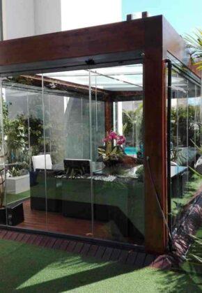 cerramiento jardin exterior