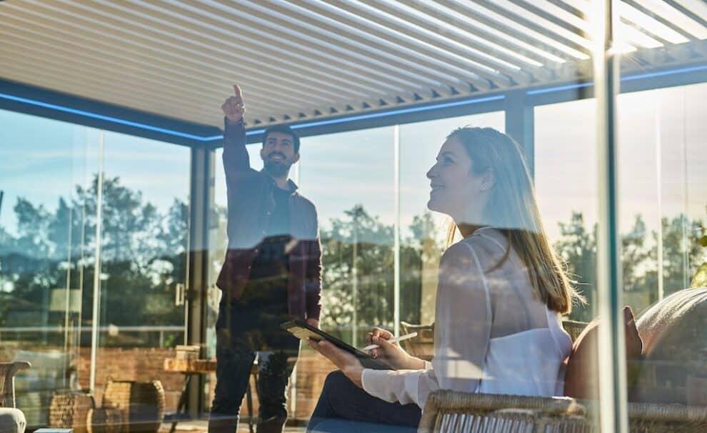casa inteligente pergolas bioclimaticas