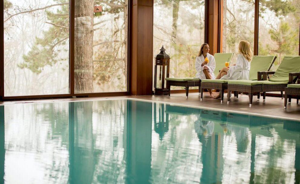 cortinas de cristal piscina