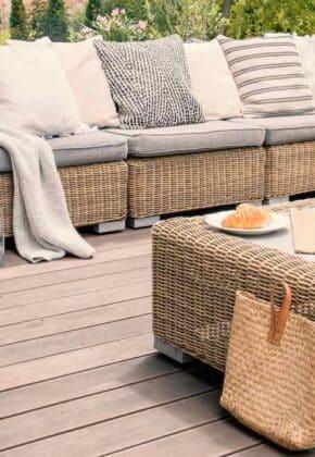 como limpiar mueble terraza
